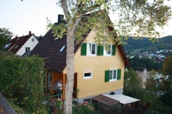 Schindelholzwerksanierung und Farbgebung
