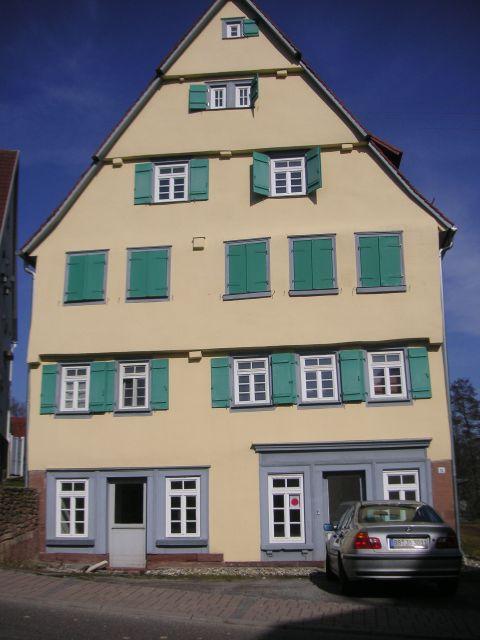 Fassadensanierung und Farbgestaltung