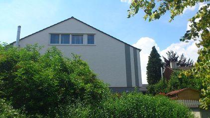 Fassadengestaltung mit Farbgestaltung