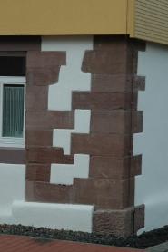 Sandsteinsanierung und Ausfachnung
