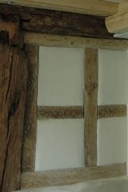 Lehmausfachungen bei denkmalgeschütztem Haus