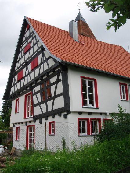 Albausanierung am denkmalgeschützten Haus