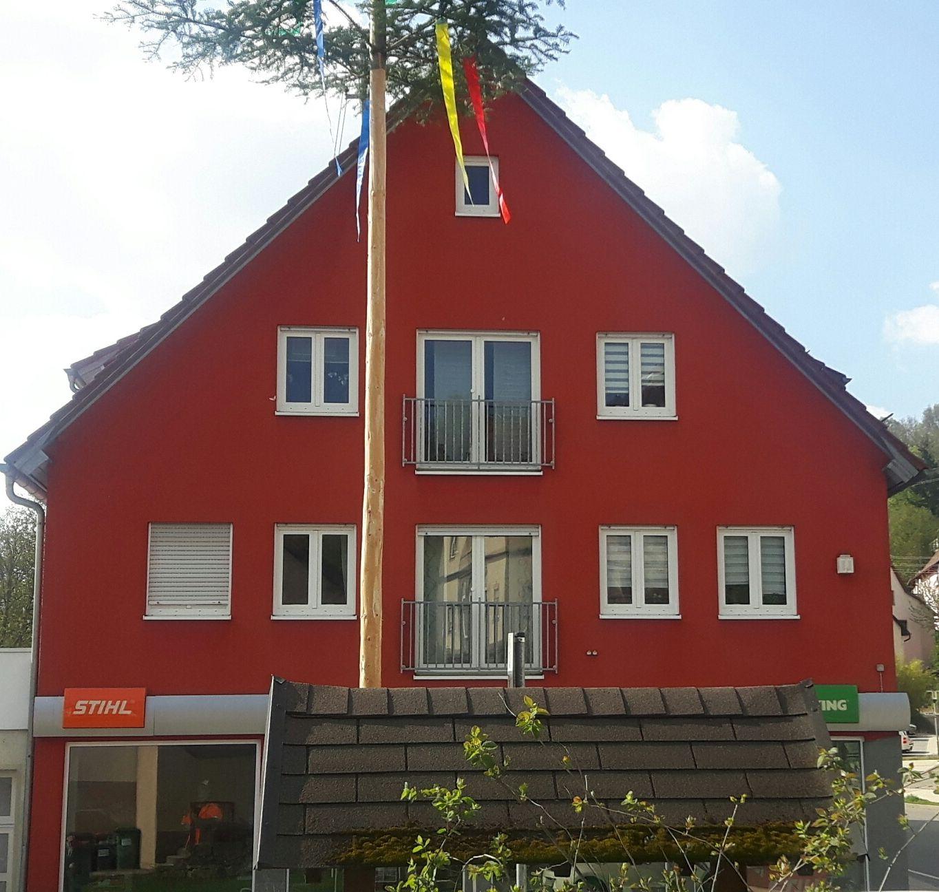 Eine Fassade Sieht Rot Und Bleibt Rot Stuckateur Lamparth